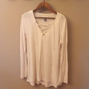 Old Navy Lace Up Top